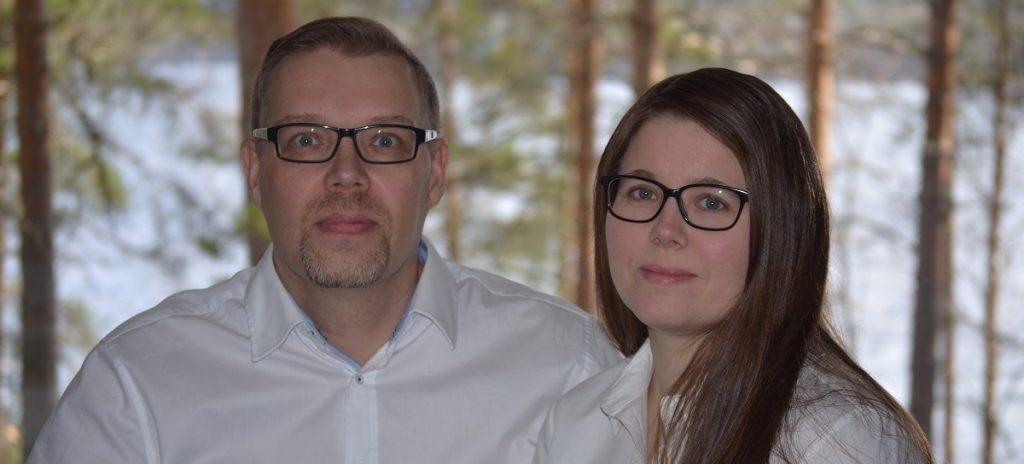 Energiahoitajat Janne ja Salla Lyytikäinen blogaavat