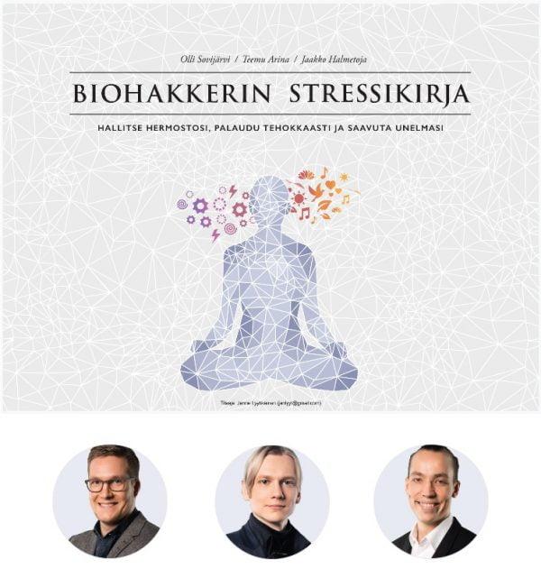 Biohakkereiden stressikirja on edullisimpi e-kirjana